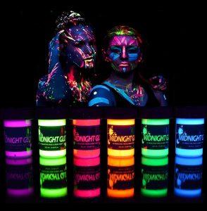 Midnight Glo Black Light Paint