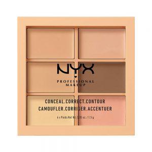NYX PROFESSIONAL Makeup Conceal Correct Contour Palette Kit