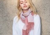6 Amazing Ways to Style Your Hair With a Cashmere Scarf